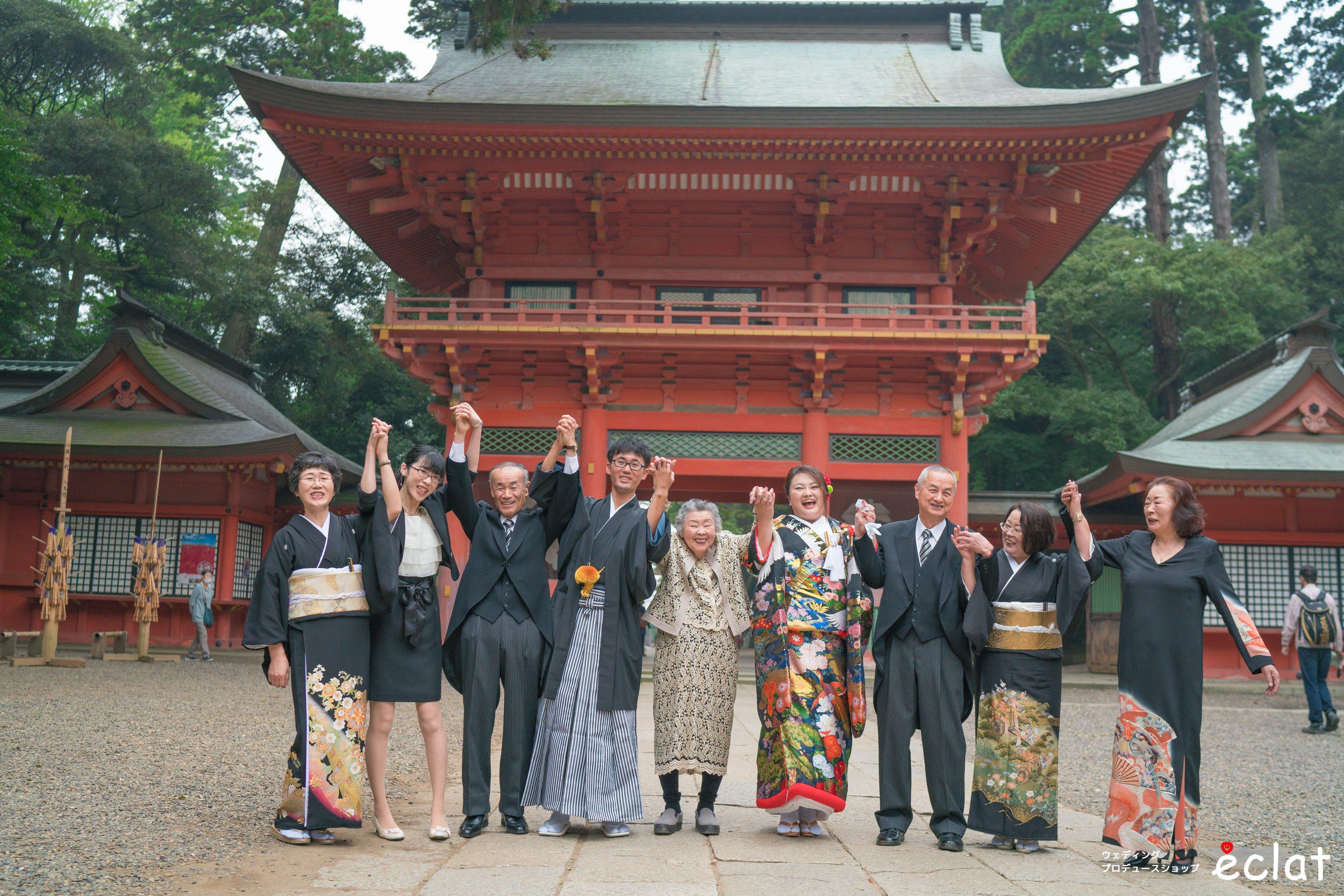 鹿島神宮 神社挙式 ウェディングプロデュースショップエクラ