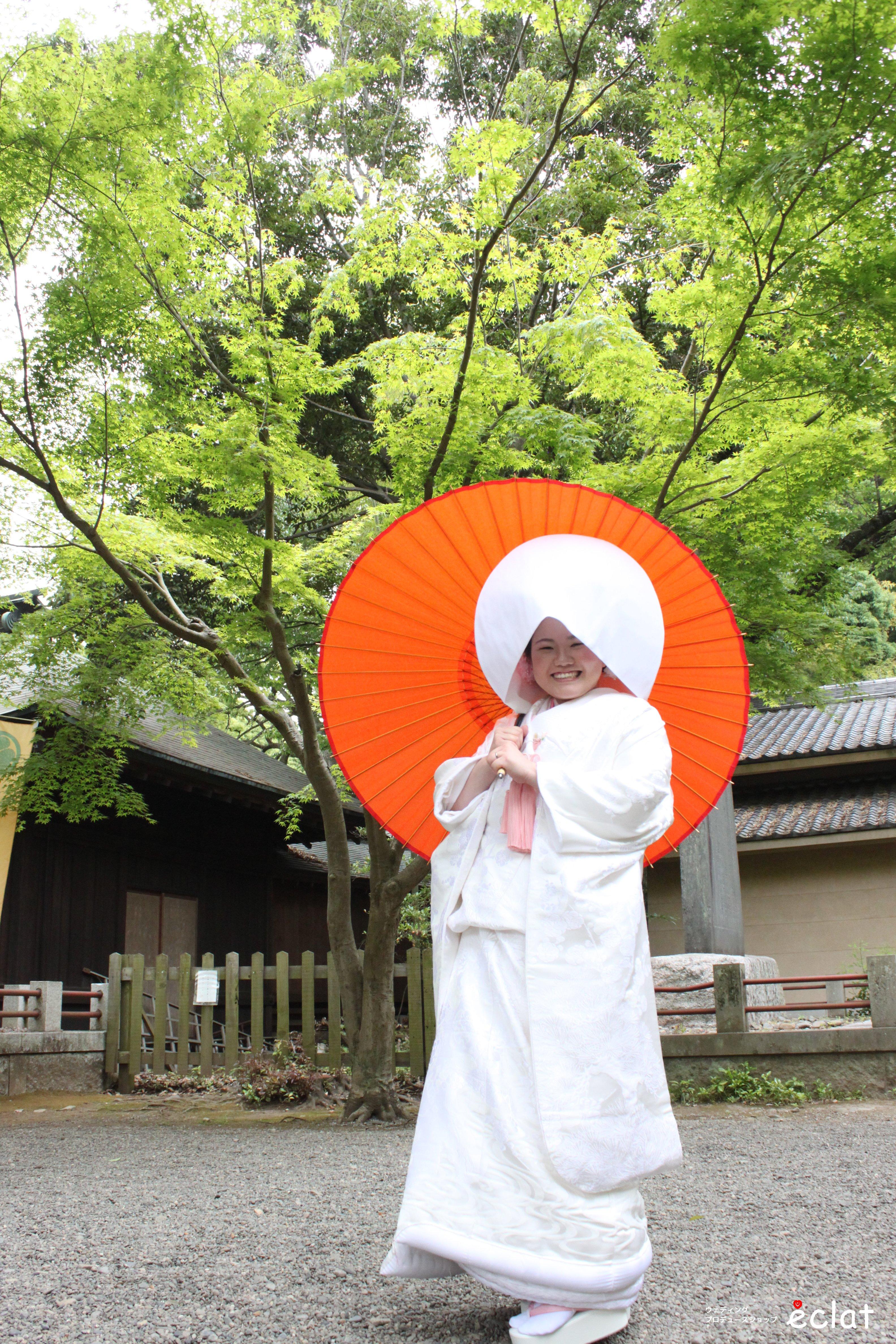 水戸神社挙式 常磐神社 ウェディングプロデュースショップエクラ