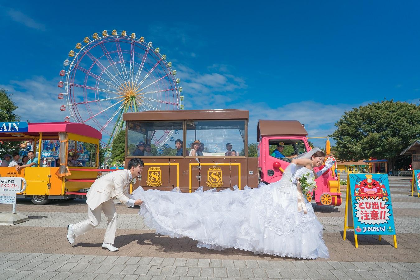 水戸 茨城 エクラ 前撮り カメラマンで選ぶ 素敵な写真 ひたち海浜公園