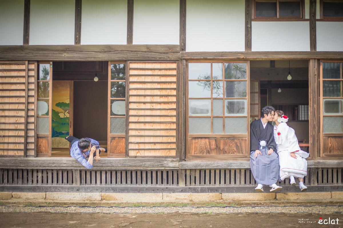 水戸 茨城 結婚式 前撮り 写真 スナップ ロケ アルバム 持ち込み