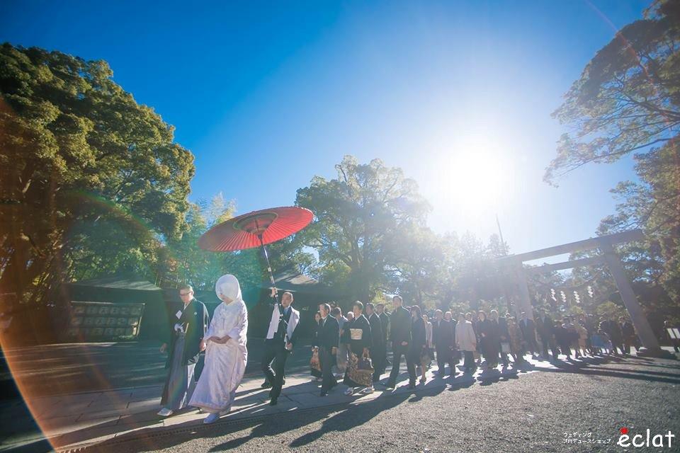 水戸 茨城 結婚式 神前式 神社挙式 和婚 常磐神社