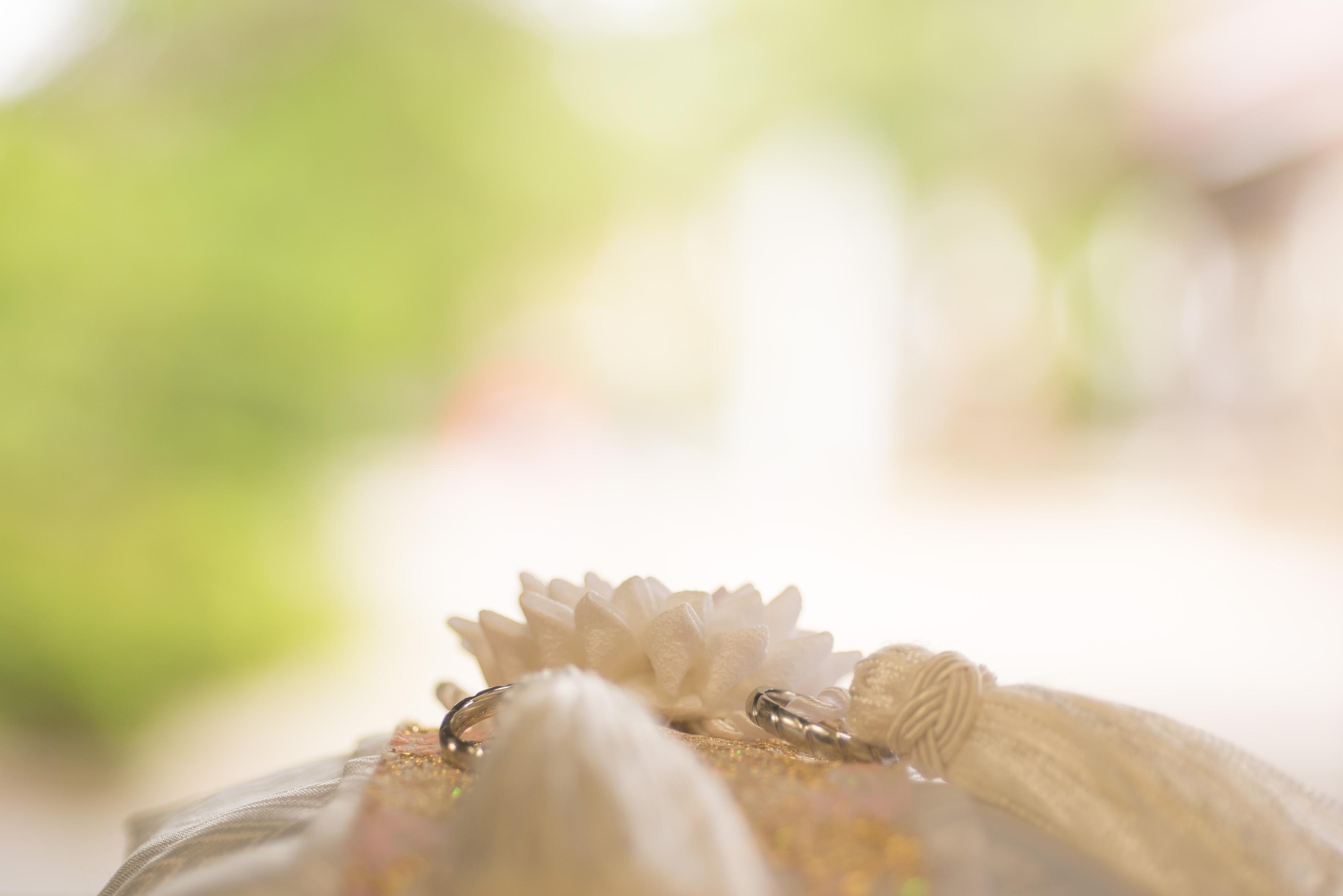 茨城 結婚式 エクラ 指輪 リングピロー神社挙式