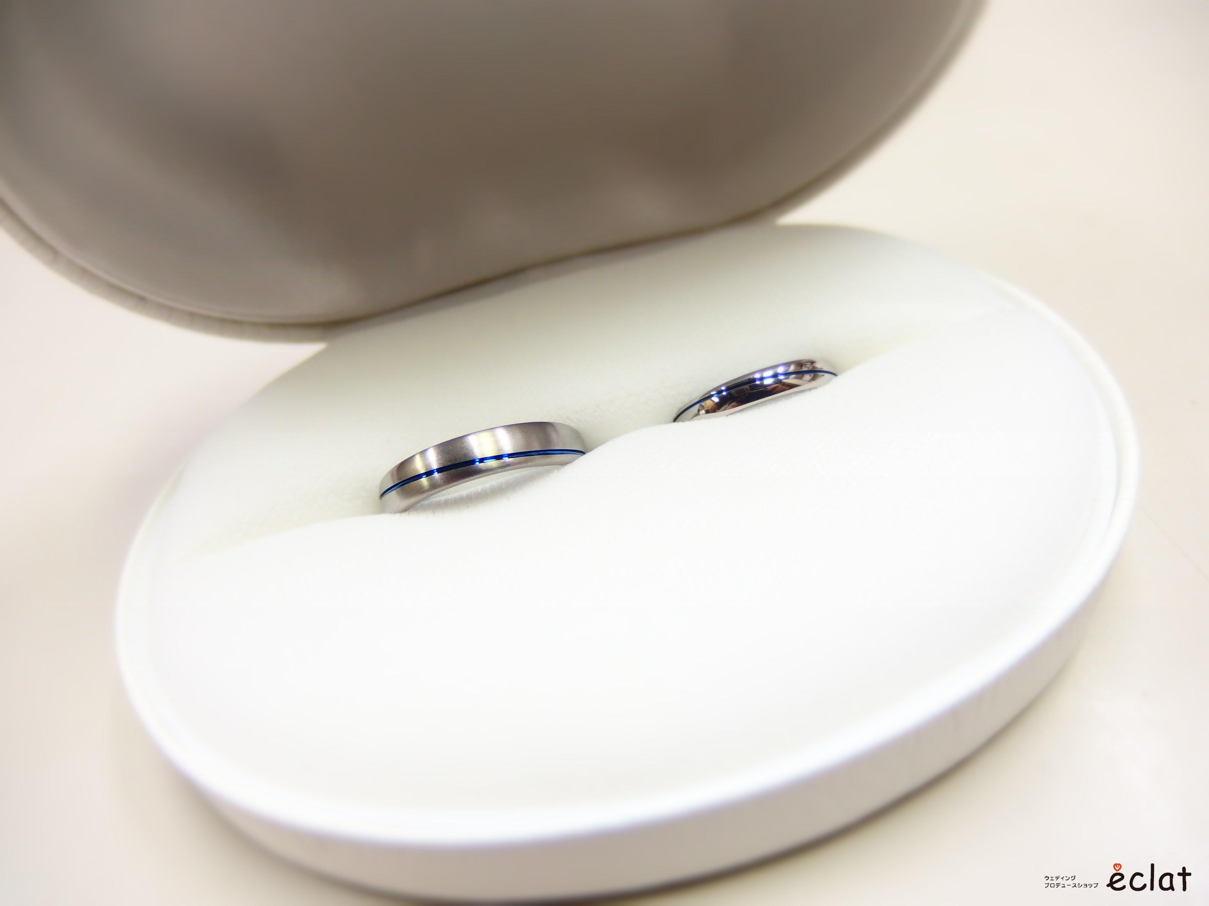 水戸 茨城 指輪 チタン ジルコニウム 金属アレルギー オリジナル