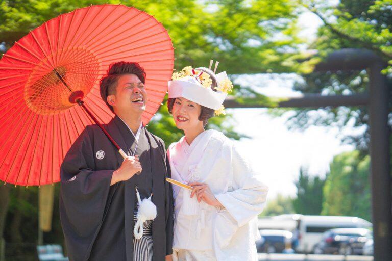 常磐神社 結婚式 神社挙式 神前式 茨城 水戸 エクラ ウェディングプロデュースショップエクラ プランナーの結婚式