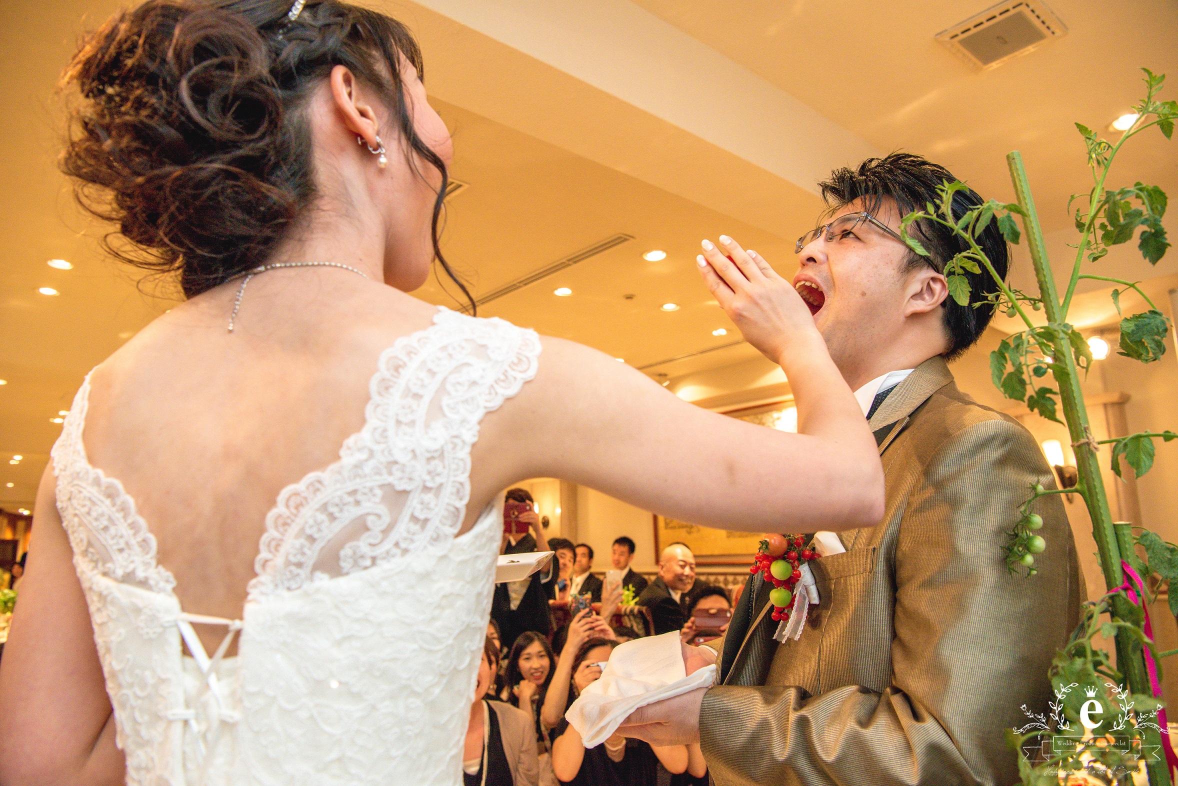 Q.E.DCLUB-結婚式-東京-水戸-ベジフル-ウェディング-野菜-オリジナル-オーダー-エクラ