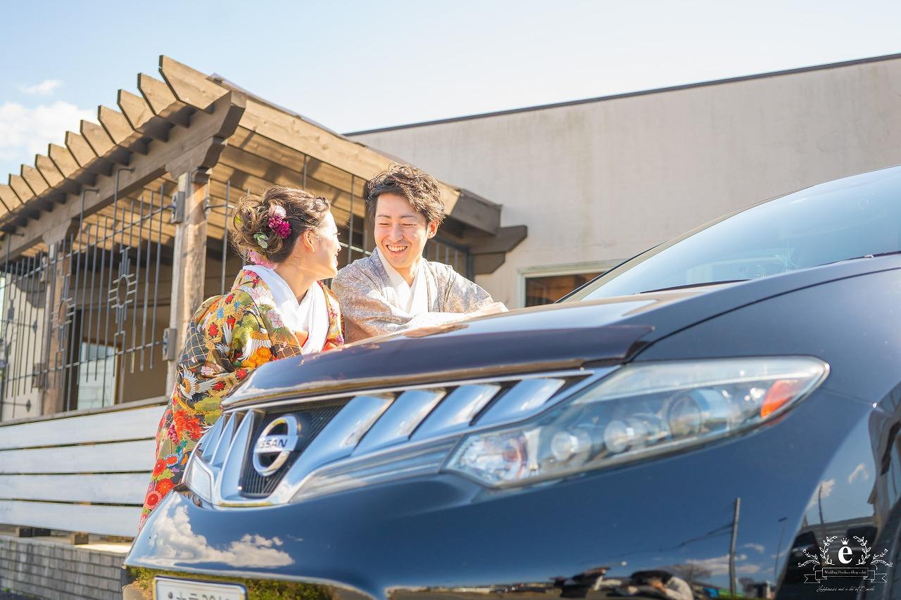 水戸 前撮り フォトウェディング フォト婚 趣味 ゴルフ 車 愛車 スノボ 写真 和装 エクラ